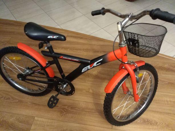 rower czerwono- czarny