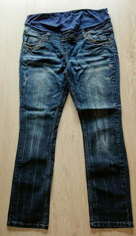 Spodnie ciążowe dżinsy r. 40