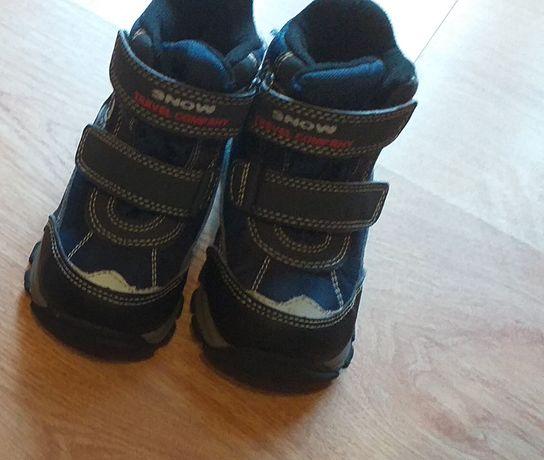 Buty zimowe chłopięce r 22