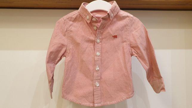 Koszula długi rękaw 9-12msc Rebel niemowlęca