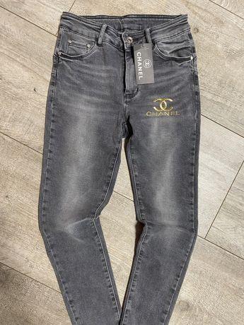 spodnie rurki chanel jeans rozm s