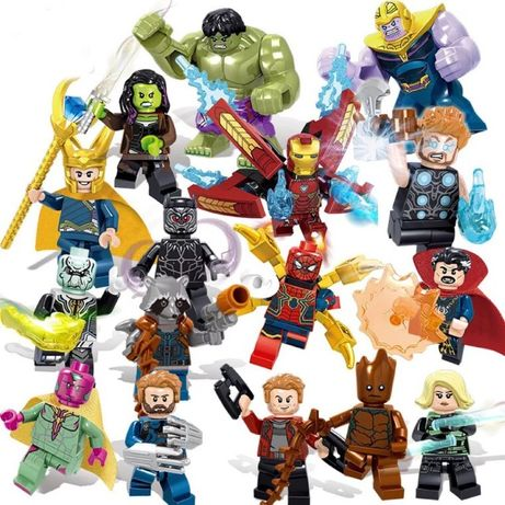 Новые фигурки Marvel - для lego лего