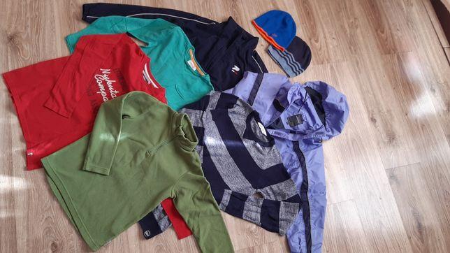 Wiosenny/jesienny zestaw ubrań dla chłopca