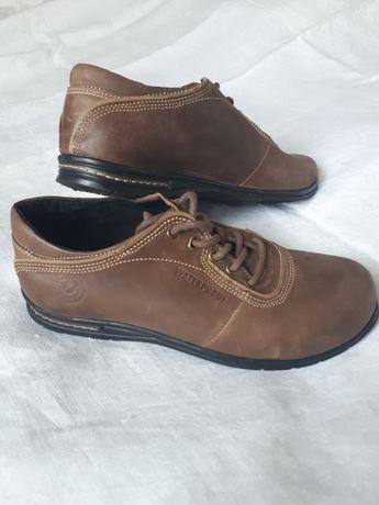 Мужские кожаные ботинки Ecco Waterproof