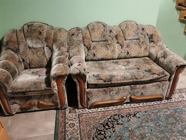 Sofa i fotel stan dobry