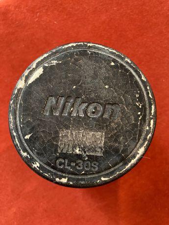 Estojo vintage da Nikon para objectivas