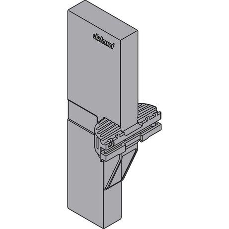 8 x BLUM Z40L000-02 ORGA-LINE uchwyt listwy poprzecznej do TANDEMBOX