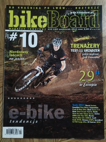 Magazyn Bike Board, październik 2010, stan bdb