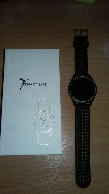 Смарт часы с СИМ картой Smart life V9 green