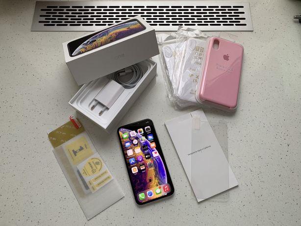 Iphone XS 64 gb BATERIA 95, Idealny! Bez blokad ! Jak nowy !