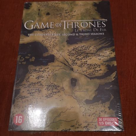 Gra o tron 1-3 sezon dvd pl