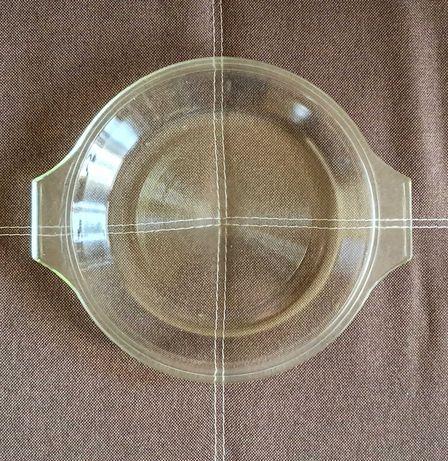 Тарелка крышка стеклянная ссср