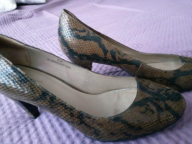 buty wzór wężowa skóra 41