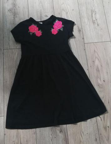 sukienka 152 czarna