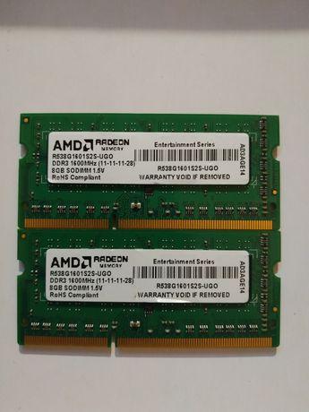 Оперативна пам'ять, ddr3 8gb 1600 AMD
