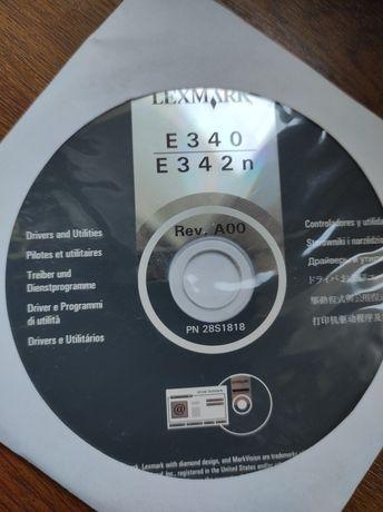 Płyta Lexmark instalacyjna E340