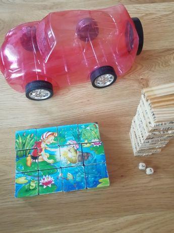 Набор игрушек для мальчика/девочки Дженга и пазл кубики уп10%,нп5%скид