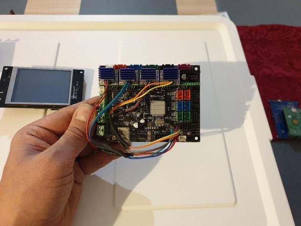 MKS GEN L v. 1.0 + TMC2208 + MKS TFT32 3,2 cala; drukarka 3d Ender