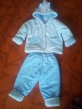 Детский Демис сезонный костюм. Очень тёплый.