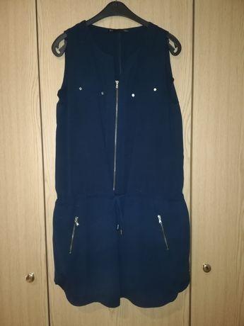 Vestido azul marinho - ideal para amamentação