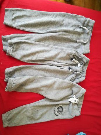 Spodnie dresy 98 2-3 lata dużo par