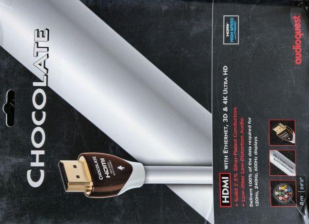 AudioQuest HDMI Chocolate 8m - super np. do projektora