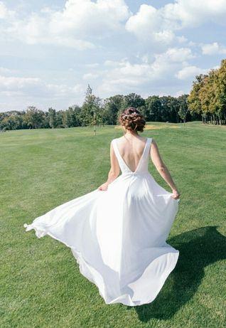 Продам свадебное платье ТМ UNONA + в ПОДАРОК украшение для волос