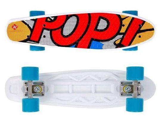 Deskorolka fiszka Street Surfing Pop Board Popsi Yellow