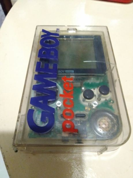 GameBoy Pocket com Caixa Original