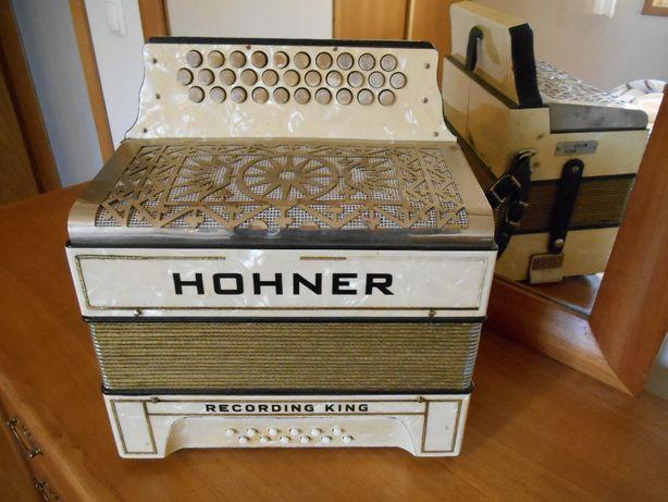 Concertina Hohner Recording King Sol Do Fa