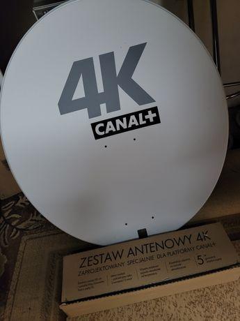 Antena z dwoma konwenterami