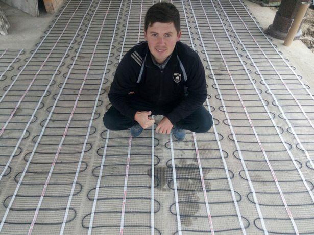 Нагревательный тонкий мат, теплый пол Fenix Devi Електро тепла підлога