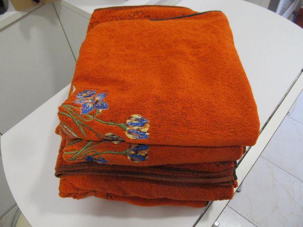 Conjunto toalhas casa de banho