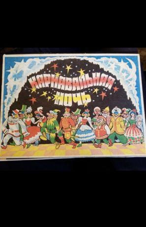 Подарочный сувенирный набор спичек карнавальная ночь. Винтаж. Редкий.