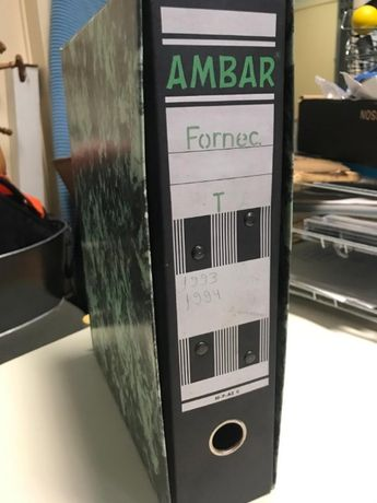 Para os contabilistas Pastas para arquivo morto AMBAR -P-AZ