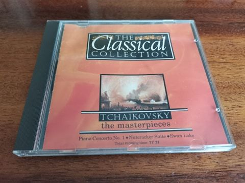 CD Tchaikovsky (фірмовий диск, Німеччина 1992)