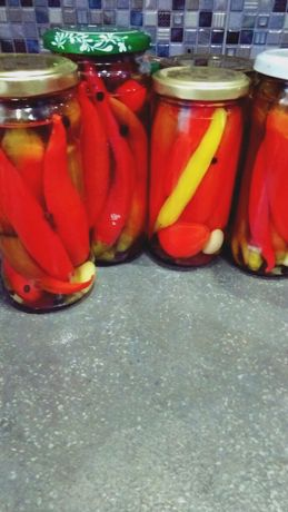 закатки домашние, перцы острые в маринаде
