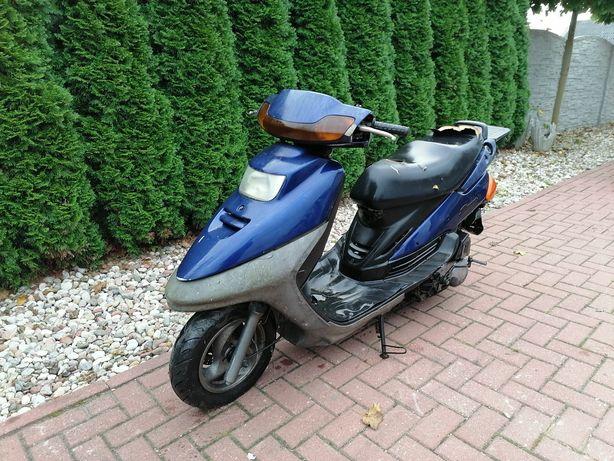 Sprzedam skuter mbk flame Yamaha 125 4t duża moc