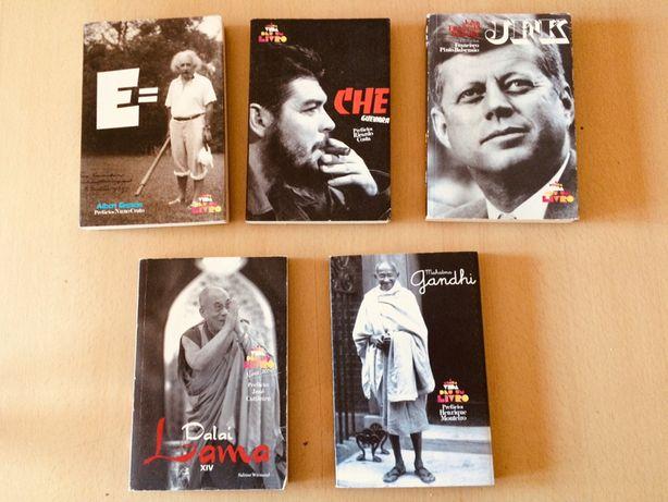 """5 Livros """"A minha vida deu um livro"""""""