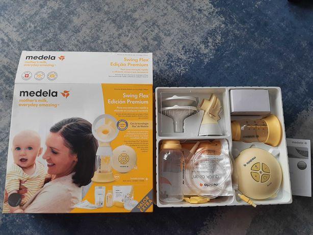 Bomba de extração de leite Medela Swing Flex Edição Premium Nova