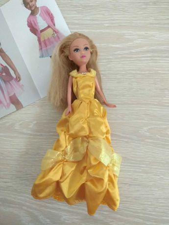 Лялька барбі 25 см.