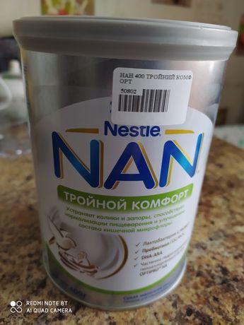 смесь NAN   Тройной Комфорт