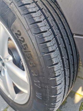 Opony Continental Premium Contact 5 225/55 R17 DOT4618, 4,4 tys. km.
