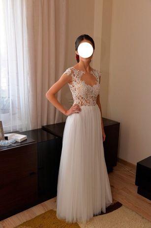 Suknia ślubna Madonna xs, wzrost 164cm+obcas
