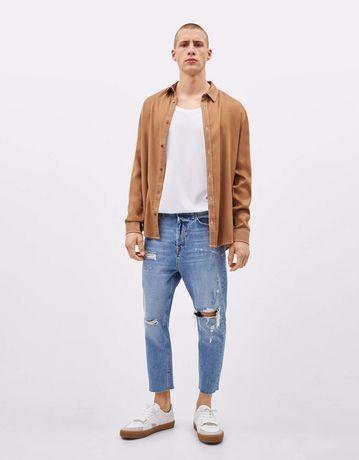 Мужские mom jeans от bershka