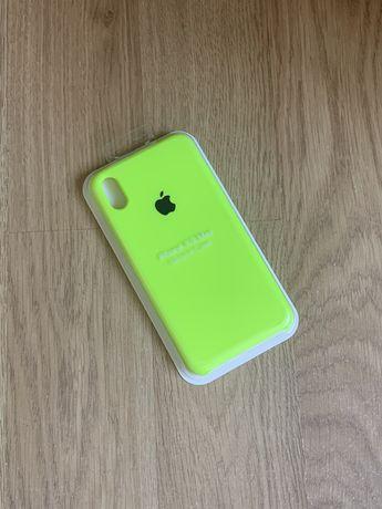 Apple etui case iphone xs max toksyczna zieleń