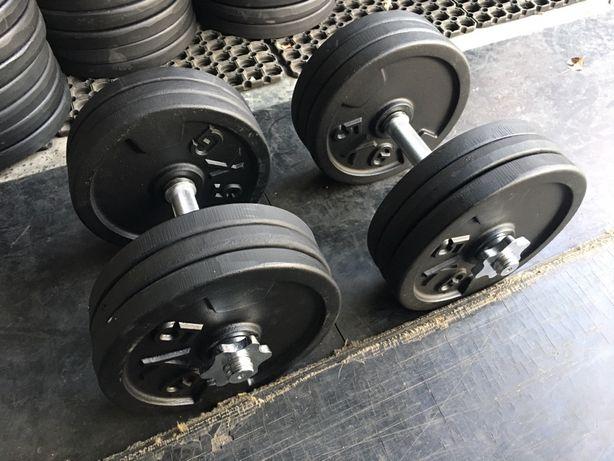 Hantle Sztangielki żeliwne regulowane 2 x 32,5kg