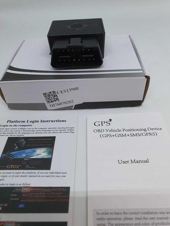 Localizador GPS OBD2 para viaturas- Alimentado p/porta OBD da viatura
