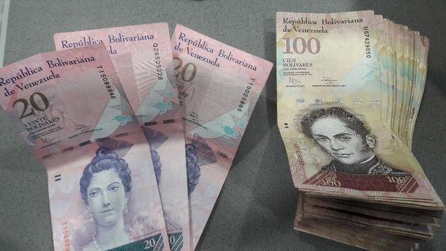 Notas bolivares venezuelanos