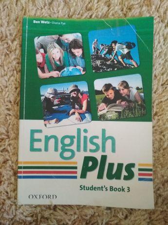 Книжка  з англійської  мови  English Plus  7 клас.